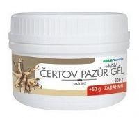 EDENPharma ČERTOV PAZÚR GÉL + MSM 300 g + 50 g zadarmo