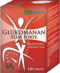 EDENPharma GLUKOMANAN Slim Forte tbl 1x120 ks
