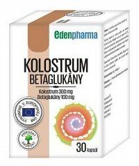 EDENPharma KOLOSTRUM BETAGLUKÁNY cps 1x30 ks