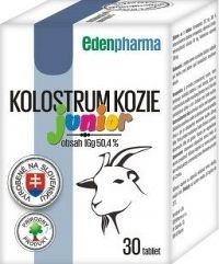 EDENPharma KOLOSTRUM KOZIE Junior tbl 1x30 ks