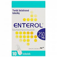 Enterol 250 mg kapsuly cps dur 1x10 ks