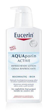 Eucerin AQUAporin ACTIVE Telové mlieko pre suchú pokožku 1x400 ml