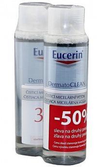 Eucerin DERMATOCLEAN čistiaca micelárna voda 3v1 2x400 ml