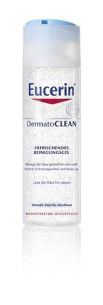 Eucerin DermatoCLEAN čistiaci pleťový gél pre normálnu a zmiešanú pleť 1x200 ml