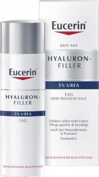 Eucerin HYAL-UREA denný krém proti vráskam pre suchú pleť 1x50 ml