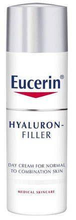 Eucerin HYALURON-FILLER denný krém proti vráskam intenzívny vyplňujúci krém pre normálnu a zmiešanú