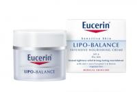 Eucerin LIPO BALANCE intenzívny výživný krém pre suchú a citlivú pokožku 1x50 ml