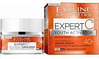 Eveline Cosmetics Expert C Denní a noční protivráskový krém-sérum 40+ 50 ml