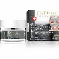 Eveline Cosmetics Facemed čistící a detoxikační maska s aktivním uhlím 50 ml