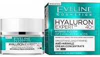 Eveline Cosmetics Hyaluron Expert denní a noční krém 40+ 50 ml