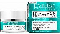 Eveline Cosmetics Hyaluron Expert denní a noční krém 50+ 50 ml