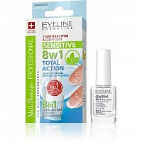 Eveline Cosmetics SPA Nail Total 8v1 SENSITIVE - kondicionér na nehty 12 ml