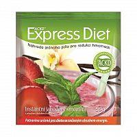 EXPRESS DIET ACKD Jahodový smoothie instantný nápoj vo vrecúšku, 1x59 g