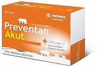 FARMAX Preventan Akut obohatený o vitamín C tbl 1x30 ks