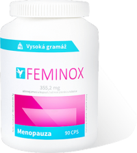 FEMINOX 355,2 mg cps menopauza 1x90 ks