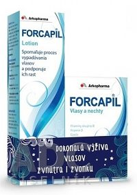 FORCAPIL cps 180 ks + FORCAPIL lotion 150 ml, 1x1 set
