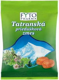 FYTO Tatranská priedušková zmes cukríky 1x60 g