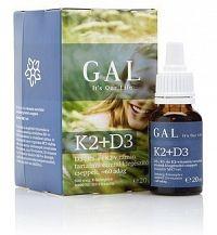 GAL Vitamín K2 + D3 kvapky 1x20 ml