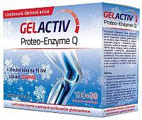 GELACTIV Proteo-Enzyme Q Vianoce 2015 tbl 130+30 navyše