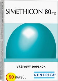 GENERICA SIMETHICON 80 mg cps 1x50 ks