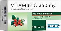 GENERICA Vitamin C 250 mg tbl 1x120 ks