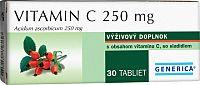 GENERICA Vitamin C 250 mg tbl 1x30 ks