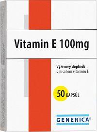 GENERICA Vitamin E 100 I.U. cps 1x50 ks