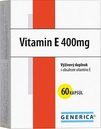 GENERICA Vitamin E 400 I.U. cps 1x60 ks