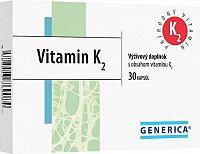 GENERICA Vitamin K2 cps 1x30 ks