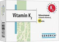 GENERICA Vitamin K2 cps 1x60 ks