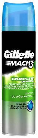 GILETTE Gel na holenie MACH3 SENSITIVE 200ML