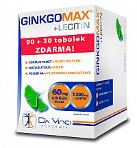 GINKGO MAX + LECITIN - DA VINCI cps 90+30 zadarmo