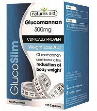 GLUCOSLIM  (glukomanán) 500mg - regulácia hmotnosti a znižovanie cholesterolu