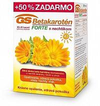 GS Betakarotén FORTE s nechtíkom cps 80+40 50% zadarmo