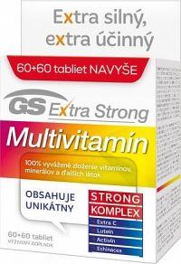 GS Extra Strong Multivitamín 2017 tbl 60+60 navyše