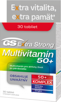 GS Extra Strong Multivitamín 50+ 2017 tbl 1x30 ks