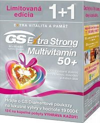 GS Extra Strong Multivitamín 50+ tbl 60+60 1x1 set