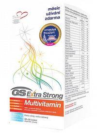GS Extra Strong Multivitamín + darček 2016 tbl 60+30 zadarmo + kód na poukaz v hodnote 10 € od Fotol