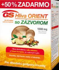 GS Hliva ORIENT so ZÁZVOROM tbl 40+20