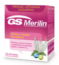 GS Merilin tbl 60+30 zdarma 2017