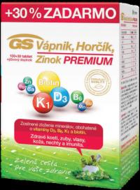 GS Vápnik Horčík Zinok PREMIUM tbl 100+30