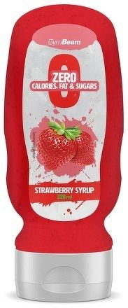 GymBeam Strawberry Syrup 320 ml strawberry