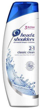 H&S 2IN1 CLASSIC CLEAN 360ML