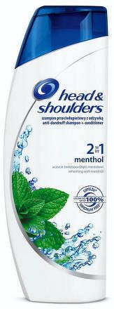 H&S 2IN1 MENTHOL 360ML