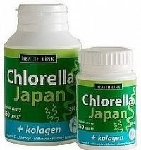 Health Link Chlorella Japan 250tbl+ KOLAGÉN