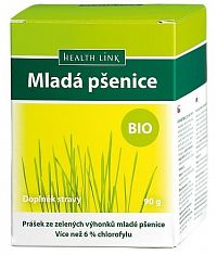 HEALTH LINK Prášek BIO Mladá pšenice 200 g -  doza