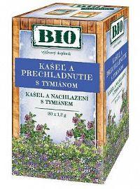 HERBEX BIO KAŠEĽ A PRECHLADNUTIE S TYMIÁNOM bylinný čaj 20x1 2 g
