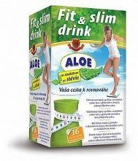 HERBEX FIT & SLIM drink ALOE vlákninový nápoj v prášku vo vrecúškach 16x6 g