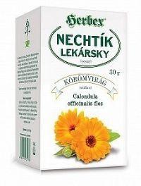 HERBEX NECHTÍK LEKÁRSKY - KVET sypaný čaj 1x30 g