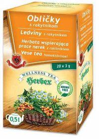 HERBEX OBLIČKY s rakytníkom bylinná zmes20x3 g